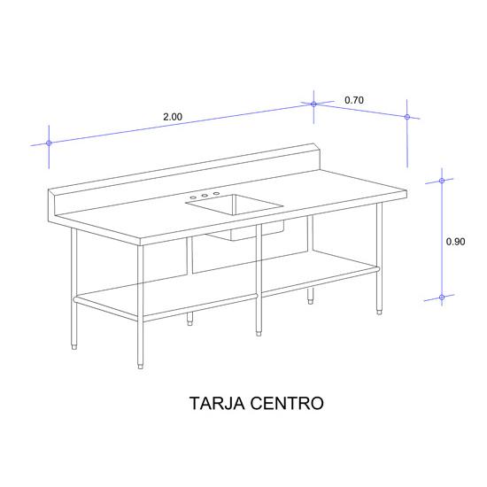 5625_Mesa con Tarja Auxiliar Mod